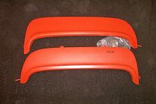 1952-54 Ford & Merc steel reproduction fender skirts with rubber.