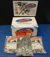 """WOODY'S 144 PACK SIGNATURE SERIES STAINLESS STEEL STUDS- 1.325"""" W 1/2 NUTS"""