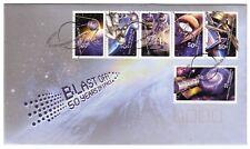 "2007 FDC. Australia. Blast Off: 50 years in space. PictFDI ""WOOMERA"""
