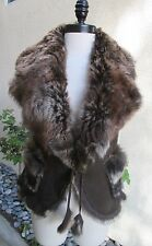 STUNNING AND  BEAUTIFUL WOMENS FRENCH LAMB VEST - MUST SEE!