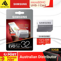 SAMSUNG 32GB EVO PLUS  MicroSD SDHC 95MB Class 10 UHS-I Memory Card with adapter