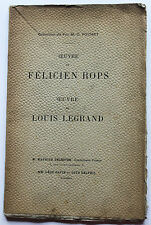 Félicien Rops Collection feu Pochet Louis Legrand estampes eaux-fortes rare
