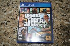 Grand Theft Auto V 5 GTA V (Sony PlayStation 4 PS4 2014) Brand New and Sealed