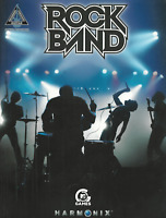 ROCK BAND GUITAR TAB & Notes Sheet Music Book Songbook Songs Shop Soiled Cover