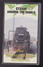 Steam Around The World (VHS) The Eastern Europe  Archives ~ Railway Video