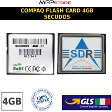 COMPACT FLASH CARD 4GB MEMORIA SECUDOS *USATO* GARANTITO MEMORY CARD FLASH