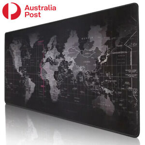 Gaming Mouse Pad Mouse Mat Gamer Keyboard Mousepad World Map