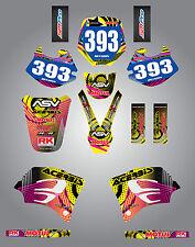 KTM 65 1998 - 2001 Neon style sticker kit Full custom graphics / decals