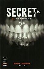 Secret #1 (VFN)`13 Hickman/ Bodenheim (1st Print)