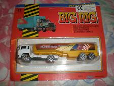 80'S VINTAGE BIG RIG GAS FUEL TRUCK FREE WHEELING MIB
