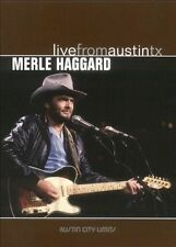 NEW Merle Haggard - Live from Austin, TX (DVD)