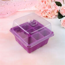 9 Hole Plant Seed Grow Box Insert Propagation Nursery Seedling Starter Tray KQ