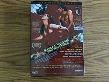 SAVAGE CINEMA from Down Under 3-Film 4-Disc DVD set Mark Savage - OOP - RARE!!!