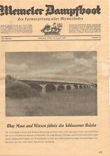Memeler Steamboat Heimatzeitung Aller Memelländer 1957 Nr.16 (D8