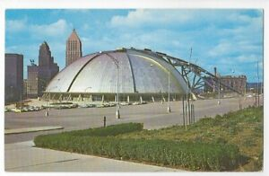 PUBLIC AUDITORIUM,CIVIC ARENA,IGLOO,HORNETS HOCKEY,MOVEABLE DOME-PITTSBURGH,PA