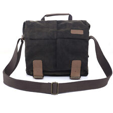 Vintage Canvas DSLR Camera Case Travel Shoulder Bag For Nikon Canon Samsung Sony