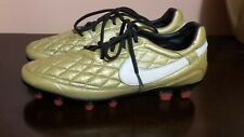 Nike 10R Ronaldinho FG Leather Soccer boots cleats LIMITED EDITION US 9 UK 8