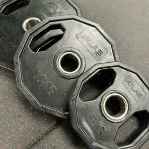 Atlas Strength Olympic Polygonal weight plate set 100kg
