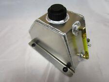 1-1/2 Qt Aluminum Low Pro Fuel Tank Go Kart Snowmobile Flat Mount Racing Parts