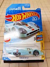2018 Hot Wheels Porsche 917 LH Baby Blue Legends Of Speed