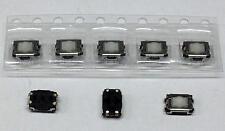 5 Stück SMD-Taster PANASONIC EVQP2402M Taster 15 V, 20 mA, 2.4 N (M3792)