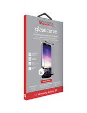 ZAGG SAMSUNG GALAXY S9 GLASS CURVE SCREEN PROTECTOR BLACK FINISH