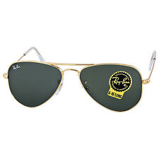 Ray-Ban Small Aviator Sunglasses Arista Gold-Tone G-15 XLT 3044-52-L0207