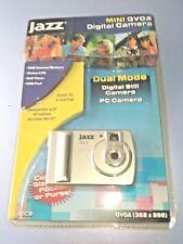 Jazz JDC9 Digital Still & PC Camera Mini QVGA Brand New Silver