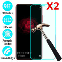 For Huawei P8 9 10 20Lite Tempered Glass Screen Protector Protective Film 2pc hi