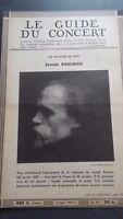 Revista Le Guía de La Concierto Y Las Sketches Letra 1952 N º 8 J.Boulnois