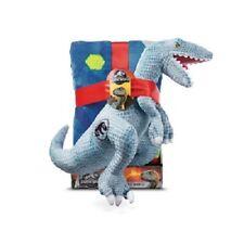 Jurassic World Dino DNA Plush Throw Blanket & Dinosaur Pillow Set, 40in x 50in