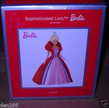 #5636 Nrfb 2013 American Greetings Sophisticated Lady Barbie Ornament