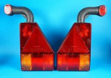 LH & RH Aspock Earpoint 1 Lamps with Rubber Marker - Brian James Trailers  #TR