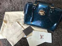 Louis Vuitton Melrose Avenue Blue Nuit M93756 Handtasche Bag