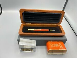 Parker DUOFOLD ORANGE Pencil 0.9mm SPECIAL EDITION NEW Boxed Year 1990