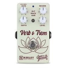 Keeley Electronics Eddie Heinzelman Verb o Trem Reverb Tremolo Effect Pedal