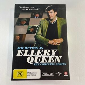 Jim Hutton as ELLERY QUEEN the complete series DVD