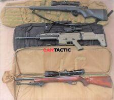 "Tactical Dual Rifle case Range Bag,  Shooting Hunting Range, 48-36"" Black"