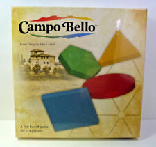 Campo Bello Family Board Game by John Caddell NEW SEALED 2 - 4 Players