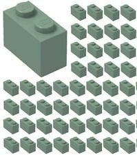 ☀️Lego 1x2 SAND GREEN x50 building blocks Part Piece Bulk Lot Legos #3004