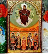 Resurrezione di Cristo icona ORTODOSSA ARGENTO ORO GOFFRATURA
