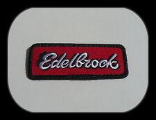 Hot Rod Patch,Aufnäher,Aufbügler,Edelbrock,V8,Muscle Car,Badge,Racing,USA