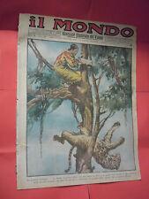 IL MONDO GIORNALE ILLUSTRATO DEI VIAGGI-N°3   DEL 1932-SONZOGNO MATARELLI MILANO