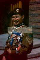 """WWII photo Sergeant J. Dyuroshe Canadian Regiment """"Fusiliers of Mont-Royal"""" 1334"""