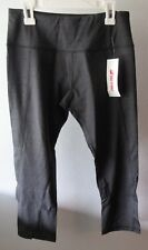 Bentibo 3/4 Capri Pants Athletic Cropped Yoga Running Workout Size Small Black