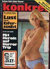 konkret Nr. 18 August 1970: Lust durch Eifersucht, Mit Heroin auf Horrortrip,