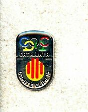 NOC Catalonia Catalunya National Olympic Committee Games Pin
