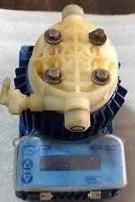 SEKO chemical metering pump, TPG603, PVDF head, ~2.1gph, ~170psi, digital versio