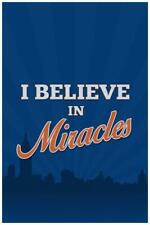 New listing I Believe In Miracles Sports Baseball Mural inch Poster 36x54 inch