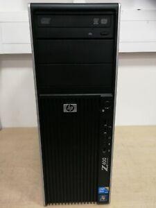 HP Z400 - Xeon W3550@3.06 GHz 4C, 12 GB@1333MHz, NVS 310 512 MB, 500 GB, W7COA